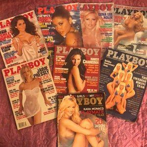 PLAYBOY MAGAZINE LOT 2004 2006 1992 2001 2009 2010